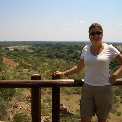 Félicie C au Botswana